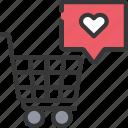 cart, ecommerce, media, shopping, social, trolly icon