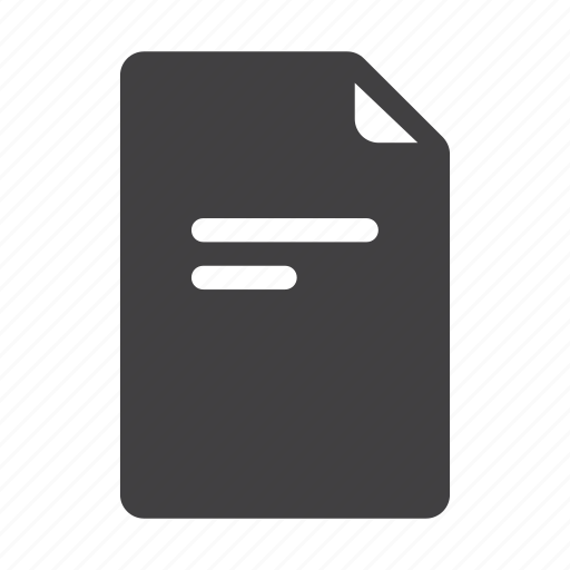 data, document, extension, files, format, page, text icon