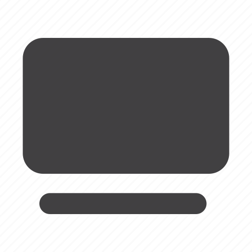 desktop, device, display, monitor, pc, screen, tv icon
