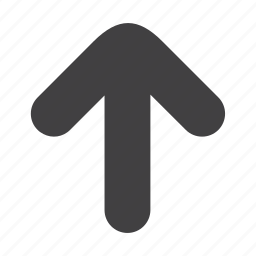 arrow, hand, like, navigation, right, top, up icon