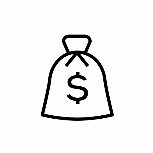 bag, cash, earning, money, money bag, payment icon