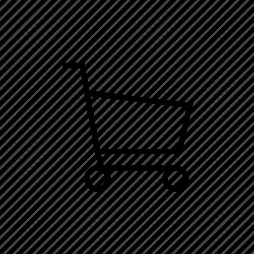 cart, checkout, retail, shopping, shopping cart icon