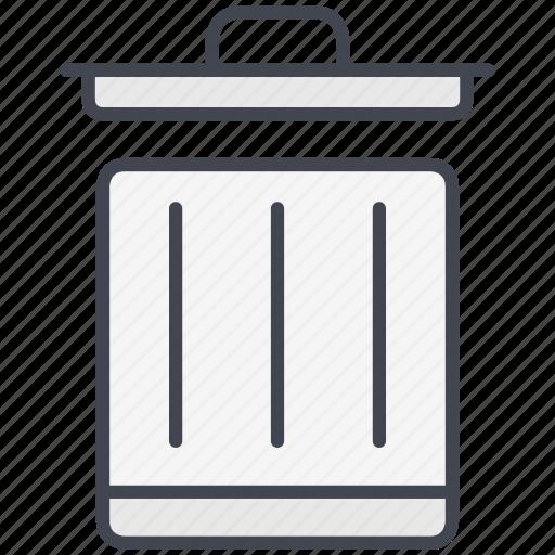 data, delete, document, garbage, remove, trash, trash can icon