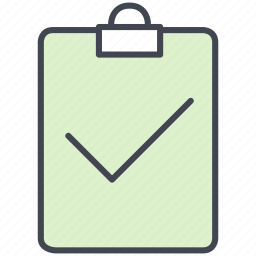 business, checklist, document, list, marketing, office, page icon