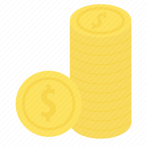 coins, ecommerce, method, money, payment icon