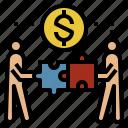 company, cooperation, economics, finance, money icon