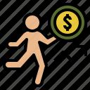 economics, finance, function, money icon