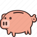 bank, money, piggy, savings, piggybank