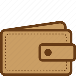 billfold, cash, leather, money, wallet icon