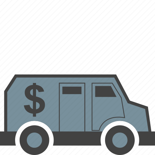 carriage, of, secure, transport, transportation, truck, valuables icon