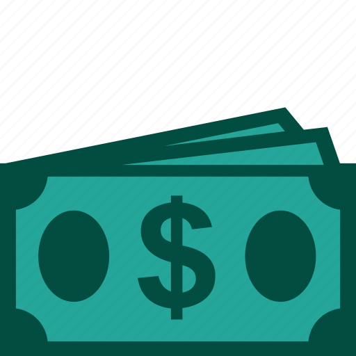 bills, cash, currency, dollar, money, payment icon