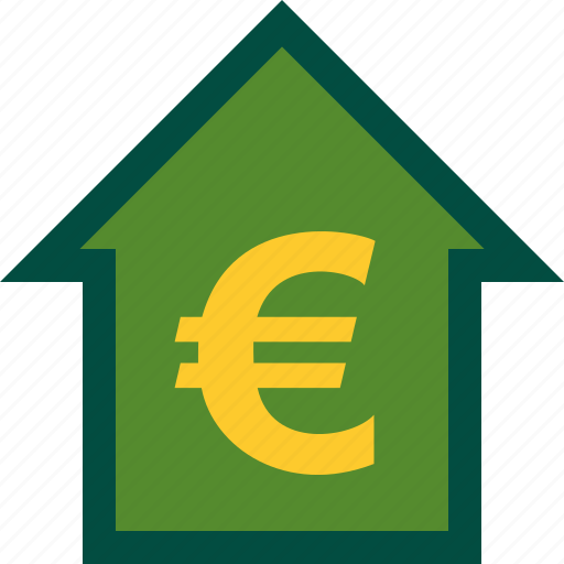 ascendance, ascending, cash, euro, finance, money icon