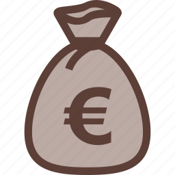 bag, bank, business, euro, money icon