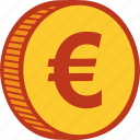 cash, coin, currency, euro, financial, money, payment icon