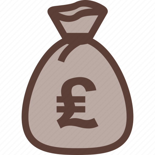 bag, bank, business, money, pound icon