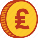 cash, coin, currency, financial, money, payment, pound icon