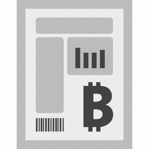 bill, bitcoin, charges, currency, invoice, payment icon