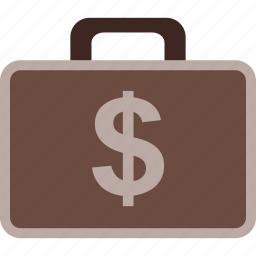 business, case, dollar, finance, money, payment icon