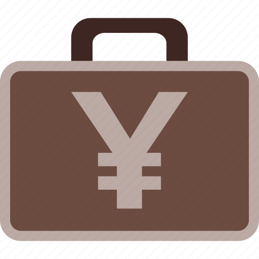 business, case, finance, money, payment, yen icon