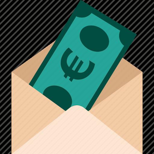 cash, euro, money, payment, send, tranfer icon
