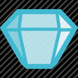 diamond, gem, jewel, jewelry, precious icon