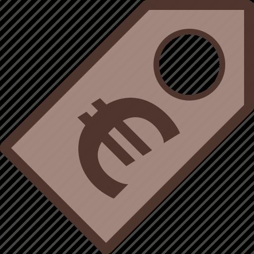 Discount, euro, label, money, sale icon - Download on Iconfinder