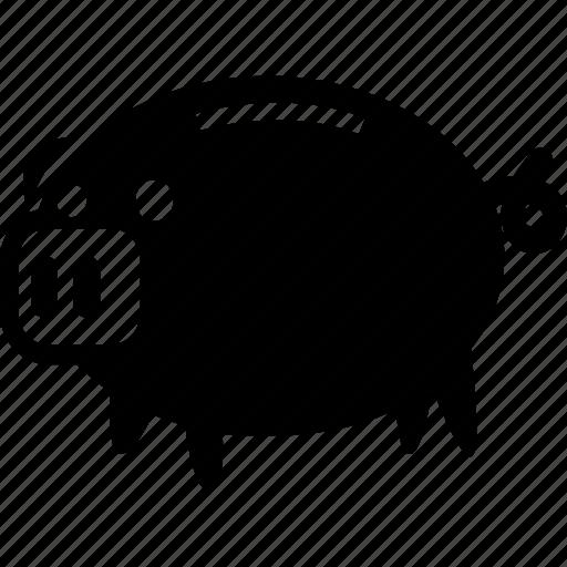 bank, coin, money, piggy, piggybank, savings icon