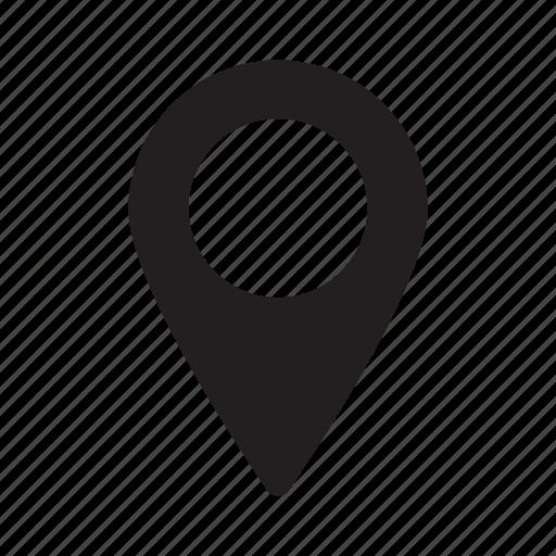 indicator, location, marker, navigation, pin, pointer icon