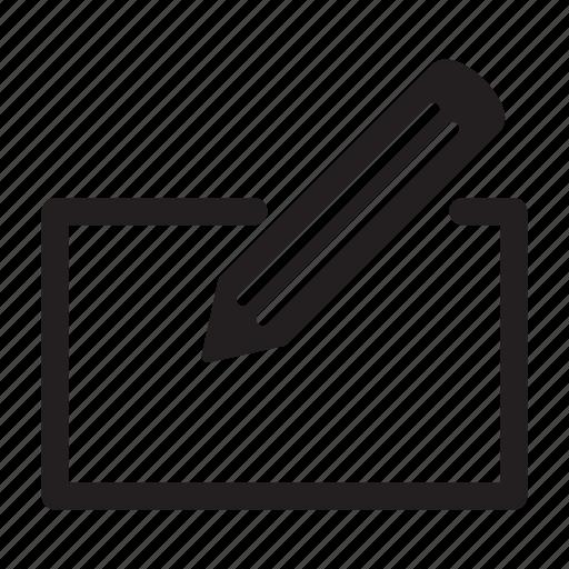 draw, edit, edition, paper, pen, write icon
