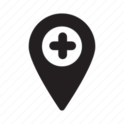in, location, marker, navigation, pointer, zoom icon