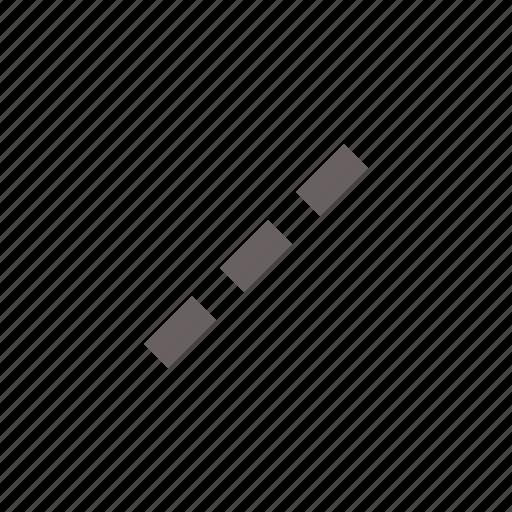 dash, line, stroke icon