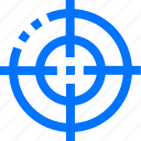 aim, editor, focus, lock, target, goal