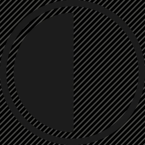 brightness, contrast, darkness, edit, editor tools, editting icon