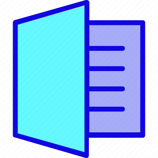 book, document, editorial, note, notebook, notepad, window icon