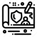 controller, design, gdpr icon