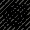 eye, focus, look, target, view icon