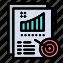 analytics, design, metrics, report icon