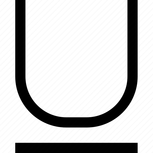 editorial, text, underline icon