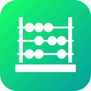 abacus, beads, calculating, frame, machine icon