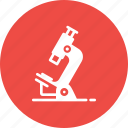 equipment, lab, laboratory, microscope, research, science icon
