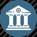 building, college, estate, real, school, university icon