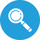 checkmark, explore, find, magnifier, search, success icon