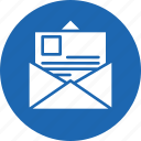email, envelope, inbox, letter, sent icon