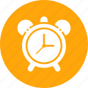alarm, clock, notification, time icon