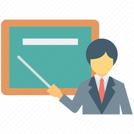 classroom, professor, teacher, teaching, tutor icon