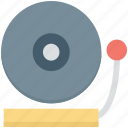 audio, dj, media, music, vinyl icon