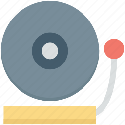 audio, dj, media, music, vinyl icon