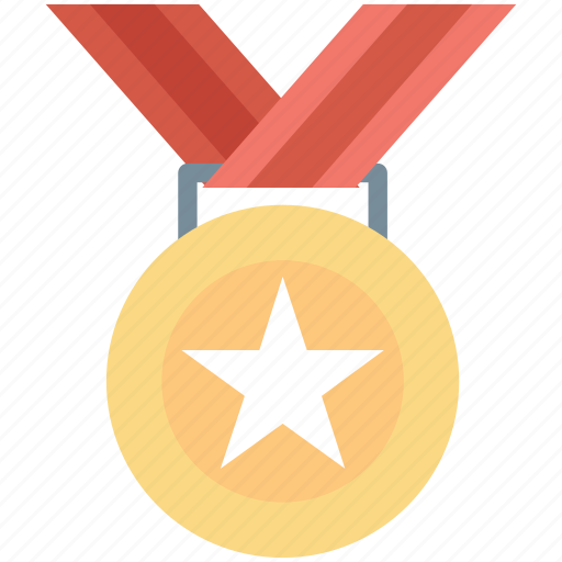 achievement, award, reward, star, star medal icon