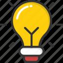 bulb, creativity, electric, idea, light