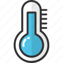 celsius, fahrenheit, medical, temperature, thermometer icon